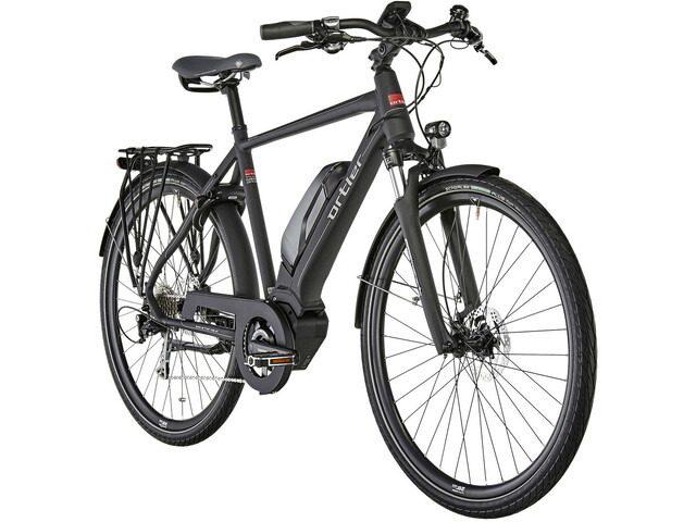 Ortler Montana Eco - Bicicletas eléctricas de trekking - negro